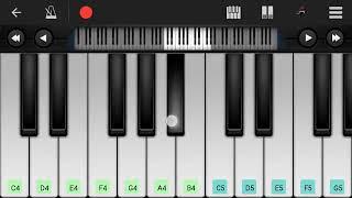 Tum kon piya Piano Cover and Tutorial || Mobile Piano Cover ||Perfect Piano