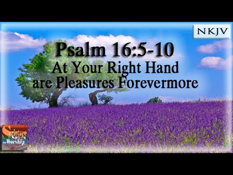 Psalm 16 5 11 Song Quot At Your Right Hand Are Pleasures
