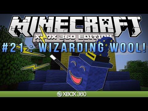 """Minecraft Xbox   """"WIZARDING WOOL""""   Survival #21"""