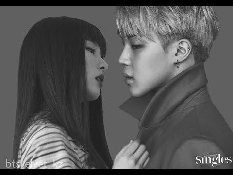 BTS Jimin and Red Velvet Seulgi Story ( BTSVELVET SEULMIN ) || Love Long Journey part 1