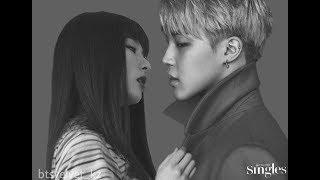 BTS Jimin and Red Velvet Seulgi Story  BTSVELVET SEULM N   Love Long Journey part 1