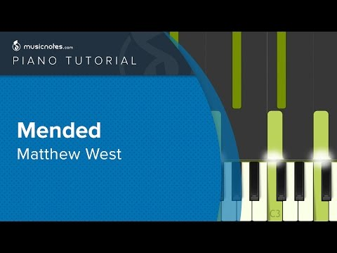 Matthew West - Mended - Piano Tutorial (cover)