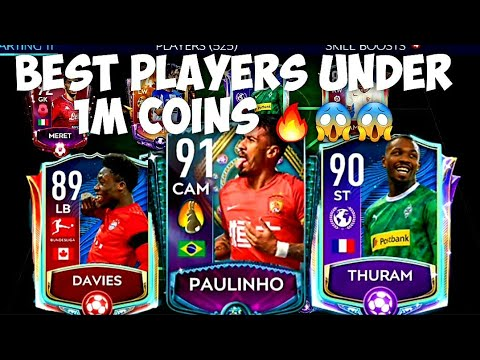 BEST PLAYERS IN EVERY POSITION UNDER 1M COINS 🔥😱/ CHEAP BEASTS IN FIFA MOBILE / FIFA MOBILE 20