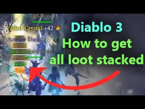 Download How to drop all Loot in the same Spot (Stacked Loot Trick) - Diablo 3