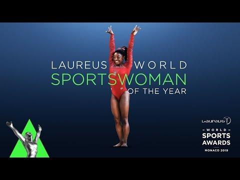 Olympic star Simone Biles named 2019 World Sportswoman of the Year | #Laureus19