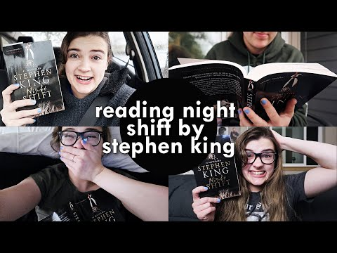 reading some spooky short stories by stephen king || reading vlog 👻