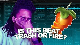 Making a HARD, but MELLOW beat... gone wrong..? [FL Studio Cookup]