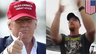 Disruptive Trump supporter banned from Delta flight for life - TomoNews