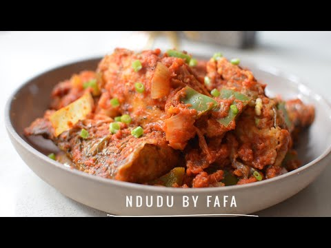 THE TASTIEST FISH STEW PACKED WITH NATURAL FLAVOURS (NDUDU BY FAFA)