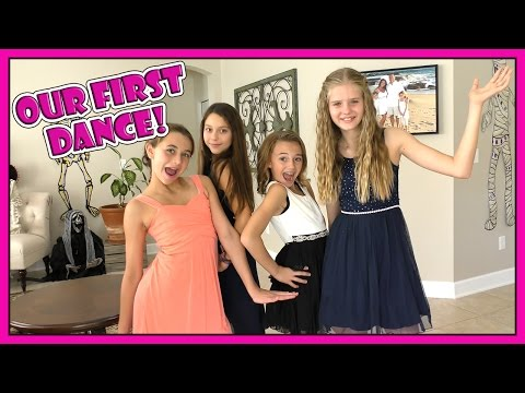 KAYLA'S FIRST SCHOOL DANCE | GIRLS' SLEEPOVER | We Are The Davises