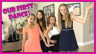 It's Kayla's very first school dance so her friends come over to ge...