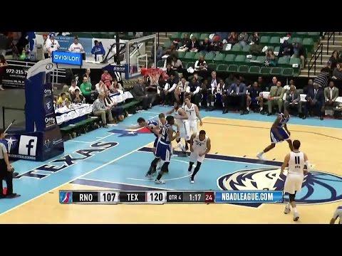 Jeremy Evans posts 25 points & 11 rebounds vs. the Bighorns, 12/19/2015
