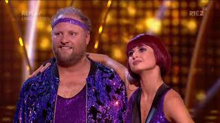 DWTS Ireland 2019   Week 1   Fred and Giulia, Cha Cha Cha   training, dance, judges and scores