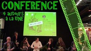 CONFÉRENCE | 4 auteurs à la Une (1) SLPJ2015