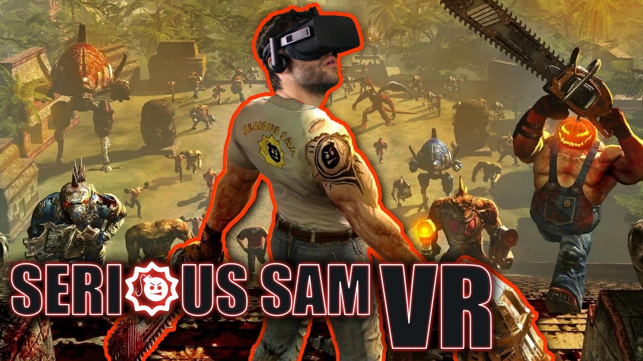 Download Serious Sam has THE BEST Movement System in VR - Serious Sam VR: TFE (Oculus Rift + Touch)
