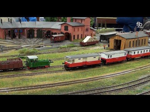 """Modellbahn Ausstellung Köln 2016 - Modulanlage H0m """"Jan Klein"""" Kleinbahn LAW"""