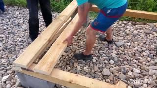Строительство простого хозблока