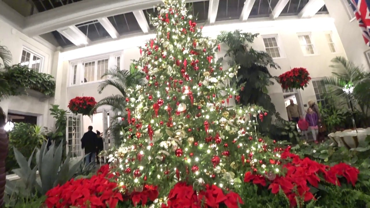 Christmas At Longwood Gardens 2017 Youtube