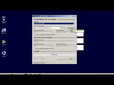 Como Bootear Una Memoria USB Con Rufus [Windows 7/8/10] 2020