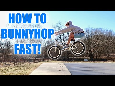 How To: Bunny Hop BMX *LEARN IN MINUTES!*