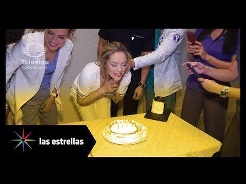 Elenco de 'Médicos' festeja cumpleaños a Erika de la Rosa | Las Estrellas