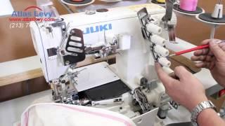 Juki Coverstitch MF-7923 - Threading process