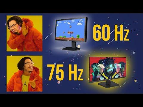 Màn Hình 75Hz Giá Rẻ Như Cho, Sao Phải Mua 60Hz! - Top 5 Màn Hình 75Hz Cực Ngon Cho Game Thủ