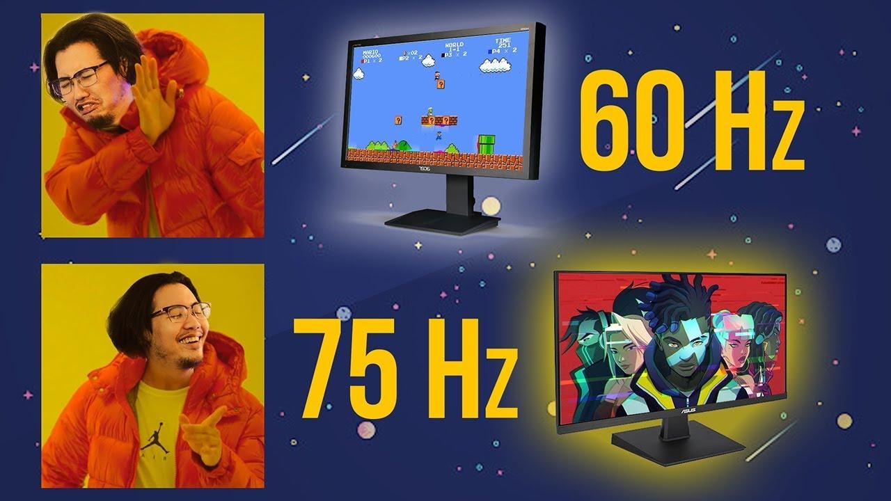 Màn Hình 75Hz Giá Rẻ Như Cho, Sao Phải Mua 60Hz! – Top 5 Màn Hình 75Hz Cực Ngon Cho Game Thủ