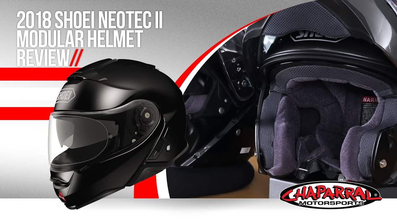 a7d47357 2018 Shoei Neotec II Modular Helmet Review and Side by Side Comparison to  the Original Neotec
