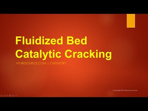 Fluidized Bed Catalytic Cracking or fluid Catalytic Cracking