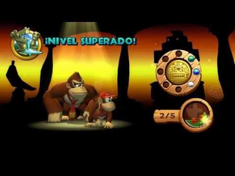 Guia Donkey Kong Country Return Pc Mundo 3 Ruinas Niveles 3-5, 3-6, 3-K, 3-J