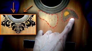 PERSONALIZA TU GUITARRA [diseño hecho con marcadores] by Cesar Gutierrez AP -HD