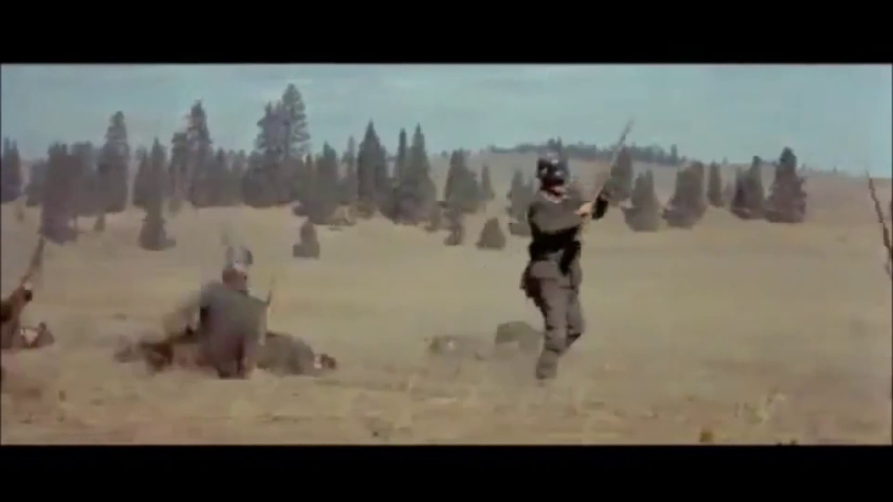 Audie Murphy Tank Scene To Hell And Back Youtube