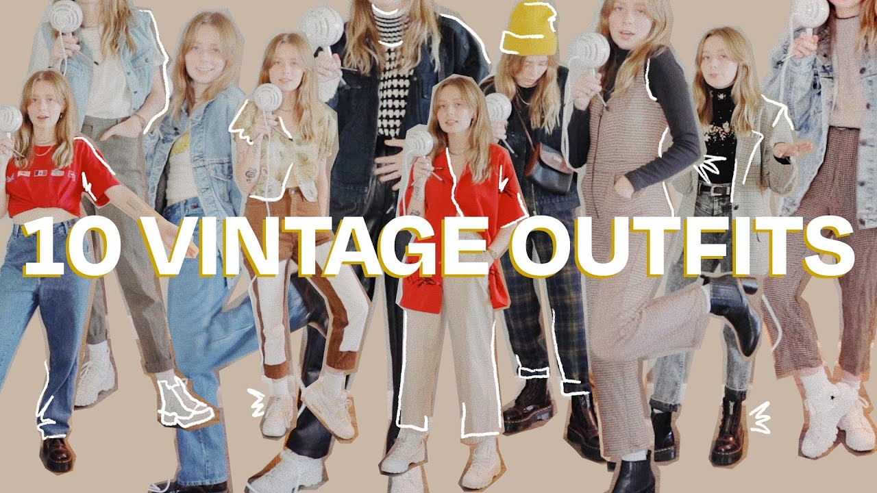 10 Vintage Outfits I Wish I Could Wear