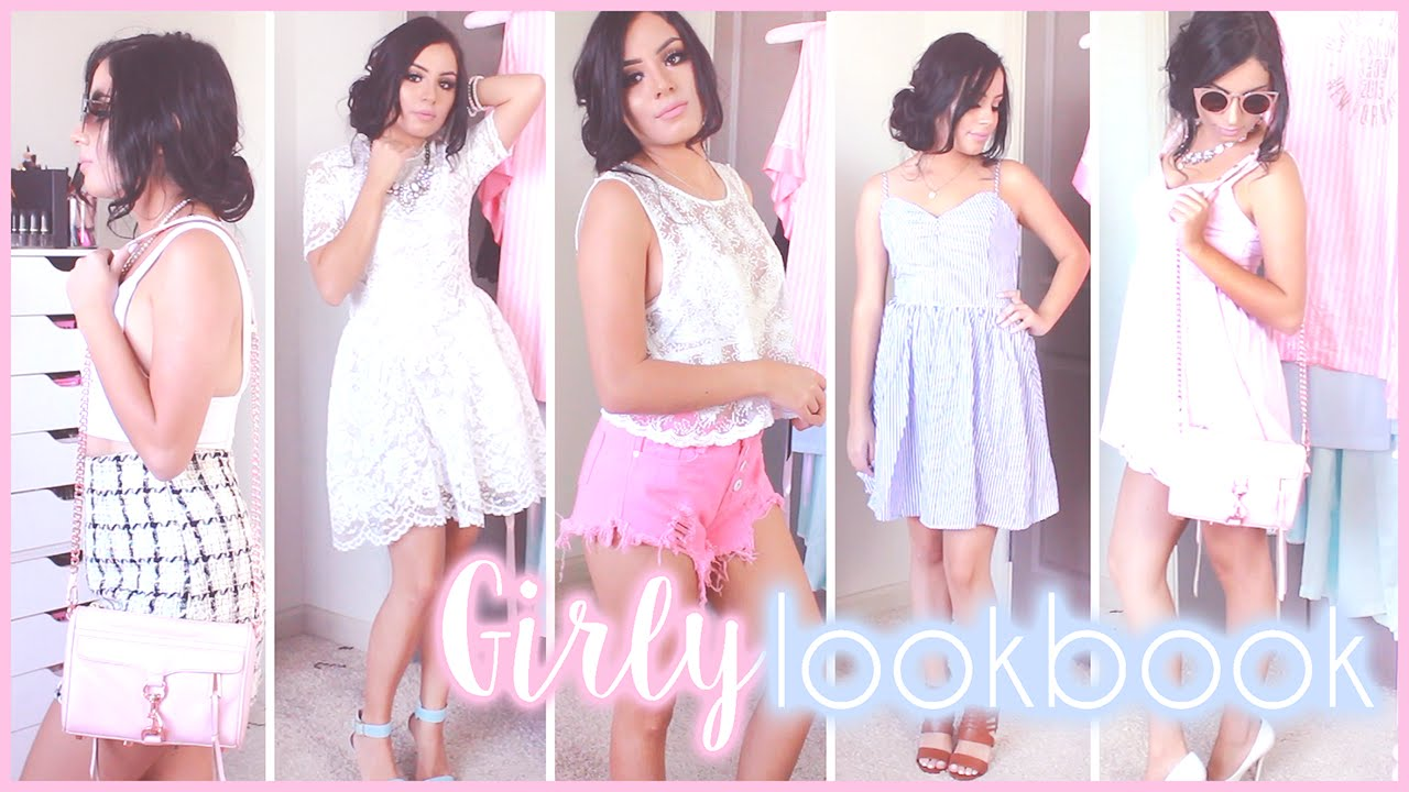 Girly tumblr outfit ideas for summer 2016 youtube voltagebd Image collections
