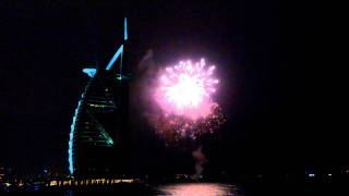 Dubai Film Festival 2011 fireworks with Burj Al Arab
