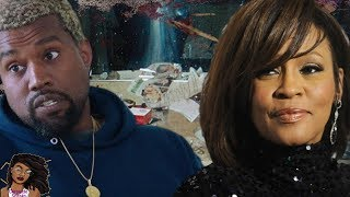 Kanye West Slammed By Whitney Houston's Family Over Bathroom Photo