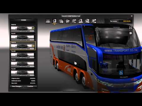 Euro Truck Simulator 2 Thailand Download Modbus + Playing 1.16.2s Part2