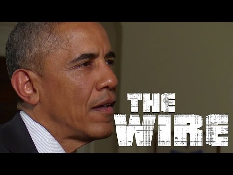 "Obama Talks ""The Wire"" With David Simon"