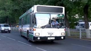"""В Шымкенте автобусные остановки """"Акбар"""" и """"Военкомат"""" объединили в одну"""