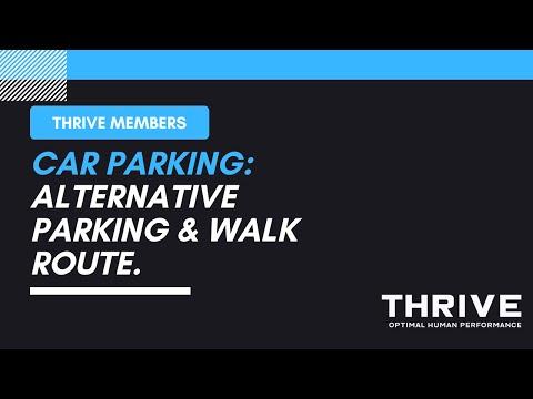 Car Parking: Alternative Parking & Walk Route