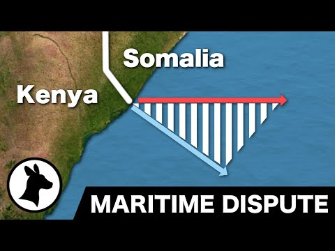 Somalia-Kenya Maritime Dispute (and different ways of dividing the ocean)