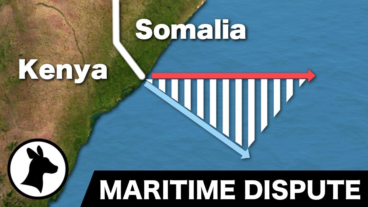 Somalia-Kenya Maritime Dispute (and different ways of dividing the ocean) - YouTube