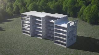 Монтаж балконов заводского изготовления с Schöck Isokorb®