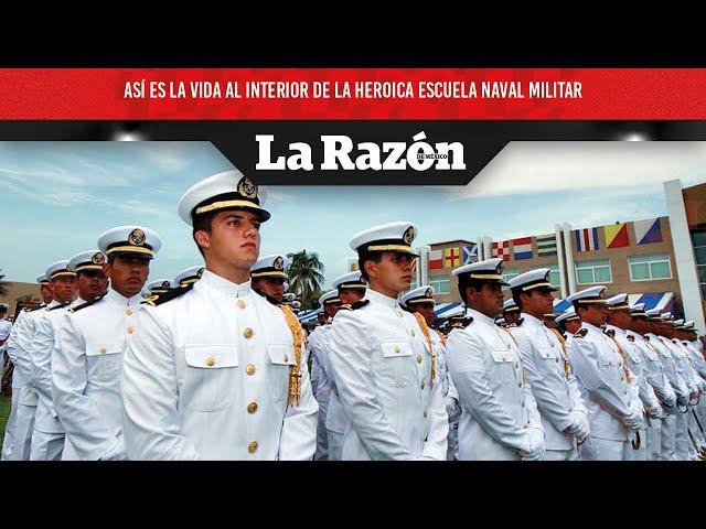 Así es la vida al interior de la Heroica Escuela Naval Militar