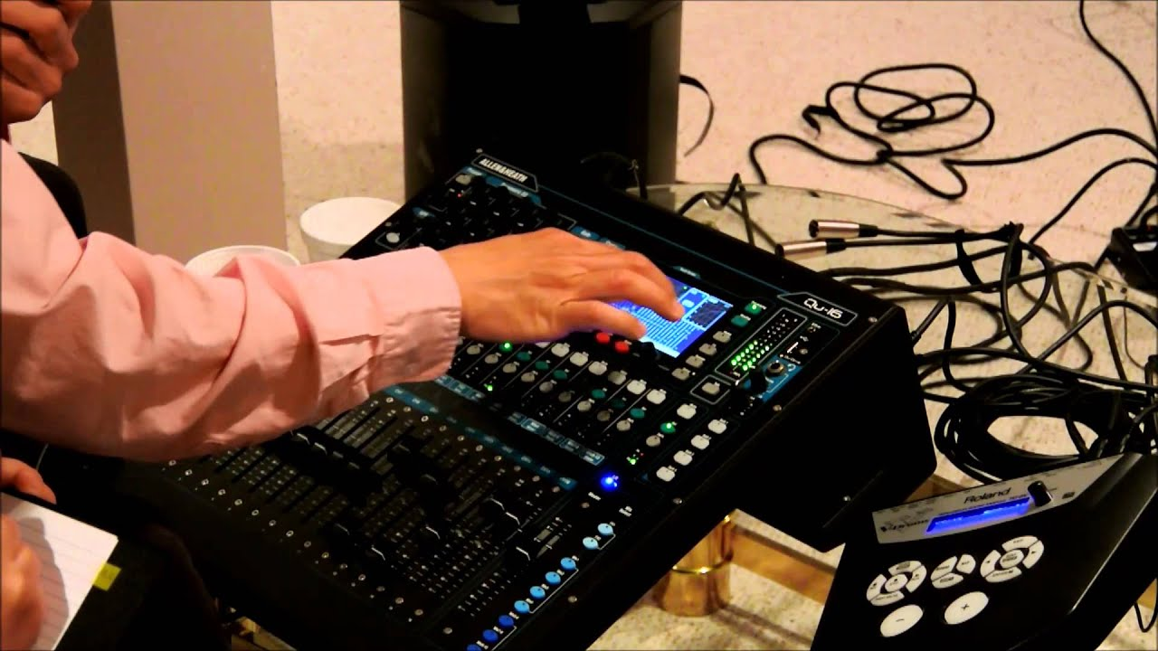 allen heath qu 16 digital mixer training in chinese part 4 output setup youtube. Black Bedroom Furniture Sets. Home Design Ideas