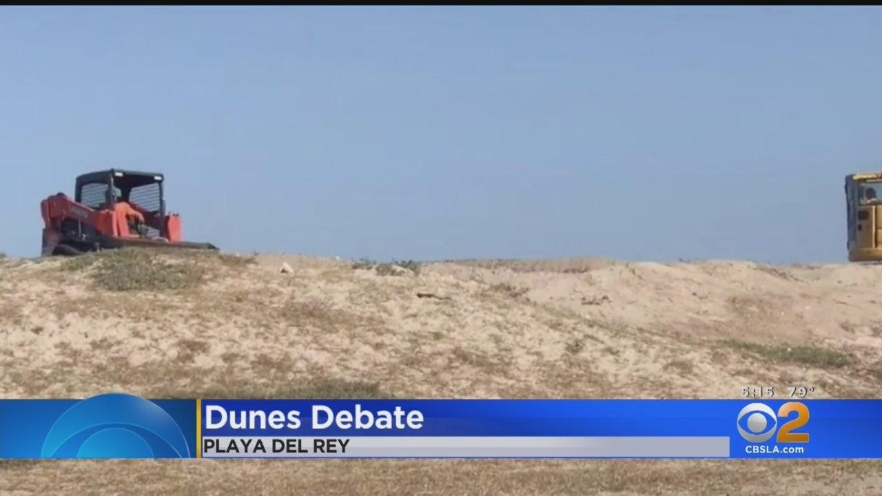 'Outrage' As Developer Bulldozes Ecologically Sensitive Playa Del Rey Dunes