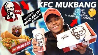 كنتاكي MUKBANG ( من أنا ؟ ما دفعني إلى إنشاء قناة على YOUTUBE؟)
