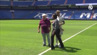 MARIANO Real Madrid PITCH presentation at the BERNABÉU | FULL STREAM