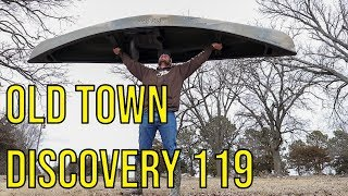 Old Town Discovery 119 Solo Sportsman Overview